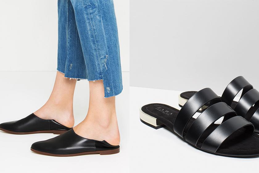 百搭又易襯的黑色涼鞋:來自平價品牌的 9 個好選擇!擁有一雙就夠了!
