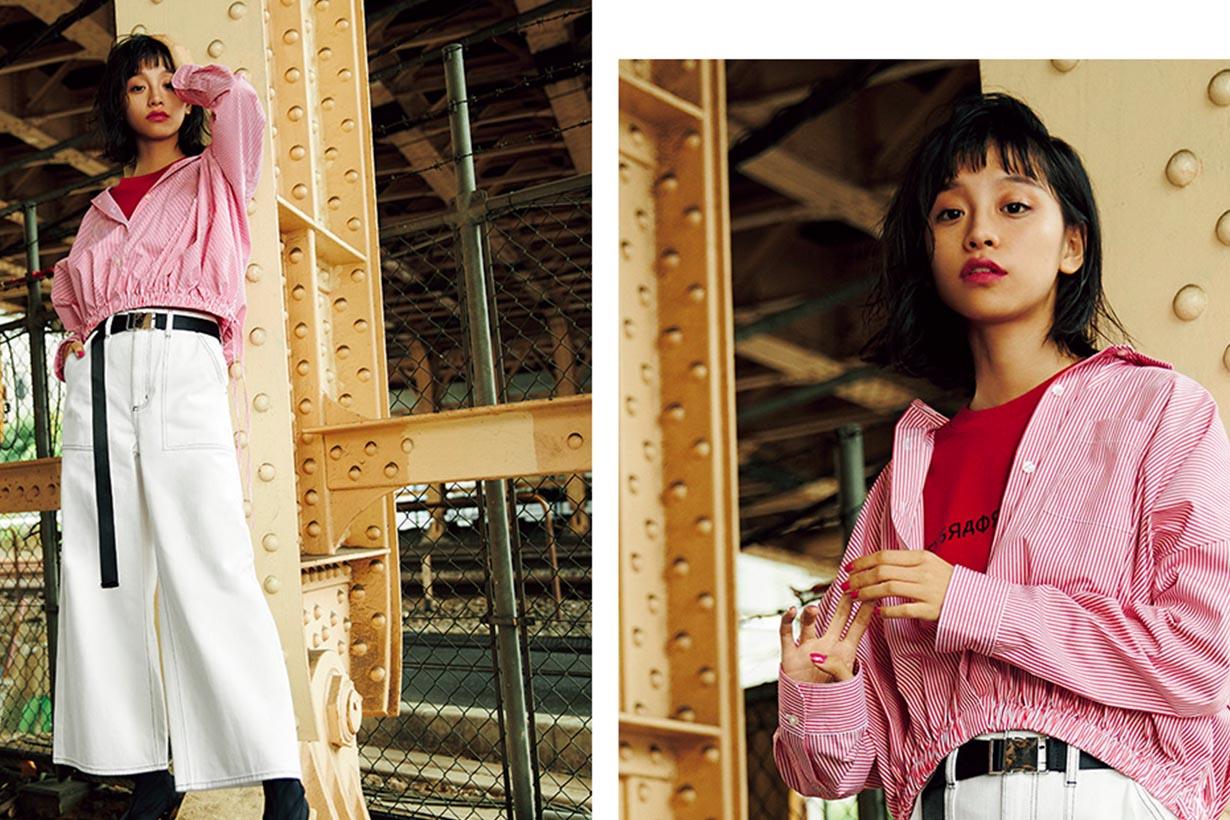 誰說只有歐美人才能穿出時尚 跟這些亞洲女孩學丹寧穿搭就對了 歐陽娜娜 邢鹿 水原希子