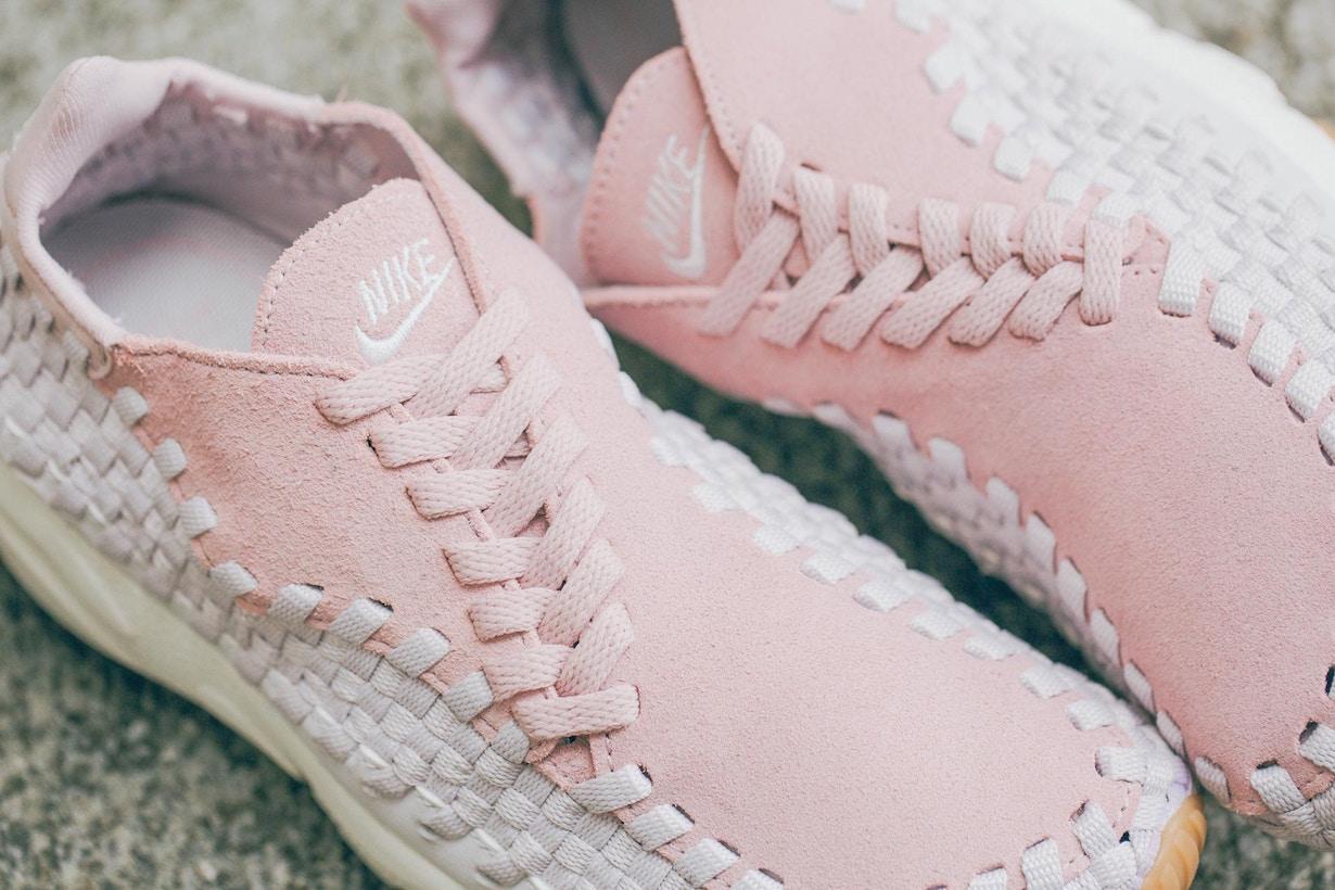 粉色風潮持續攻陷 Nike 推出限定粉紅編織波鞋 Air Footscape