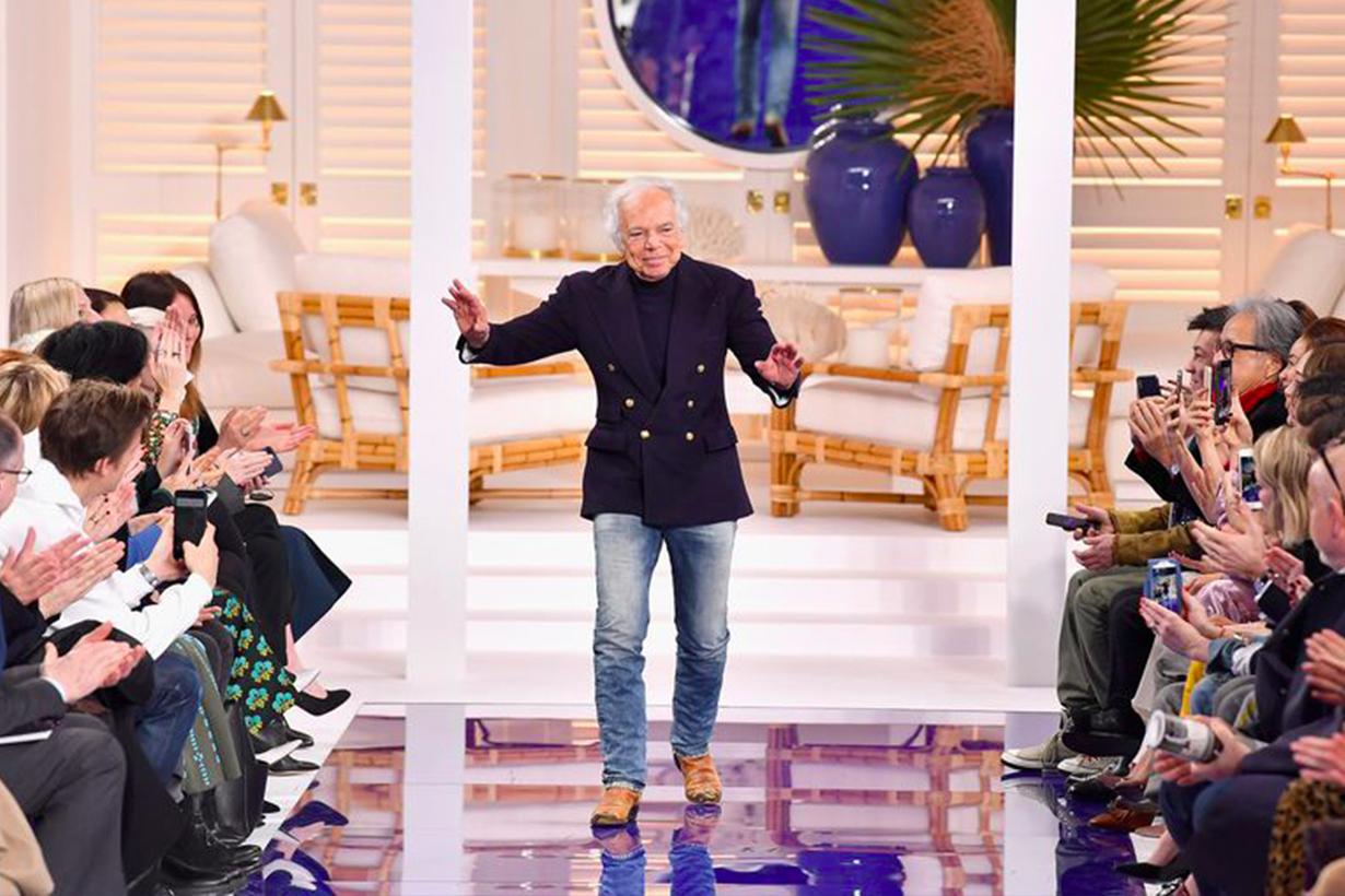 為什麼在 Ralph Lauren 2018 伸展台上 模特兒全都說好了打赤腳走秀