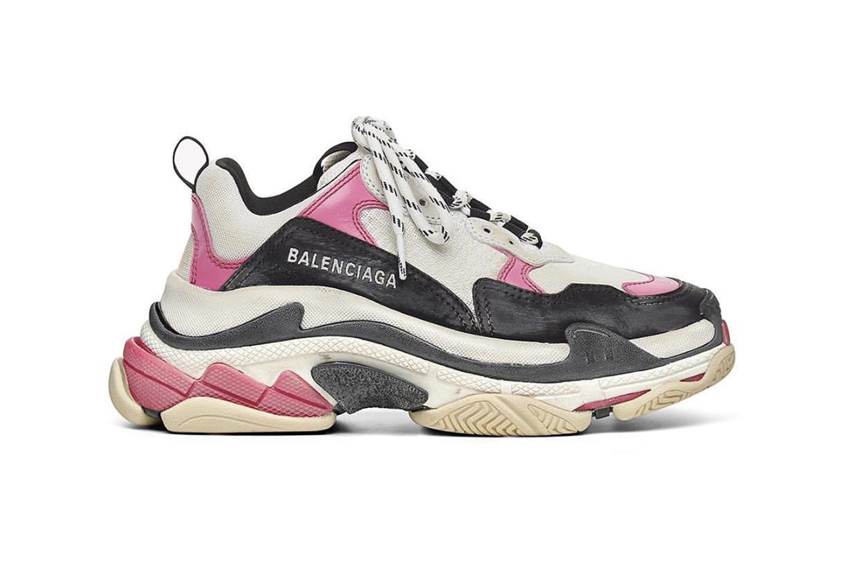 以超快速度售罄 Balenciaga Triple S 泡泡糖粉紅 新色驚喜登場