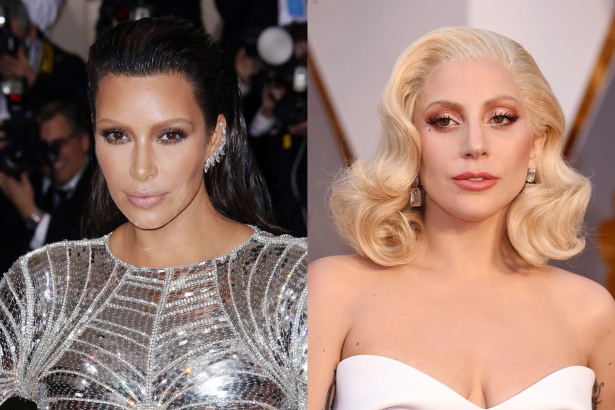 讓 Kim Kardashian 和 Lady Gaga 教你 只要改變這兒的顏色就可以讓妝容更有女人味