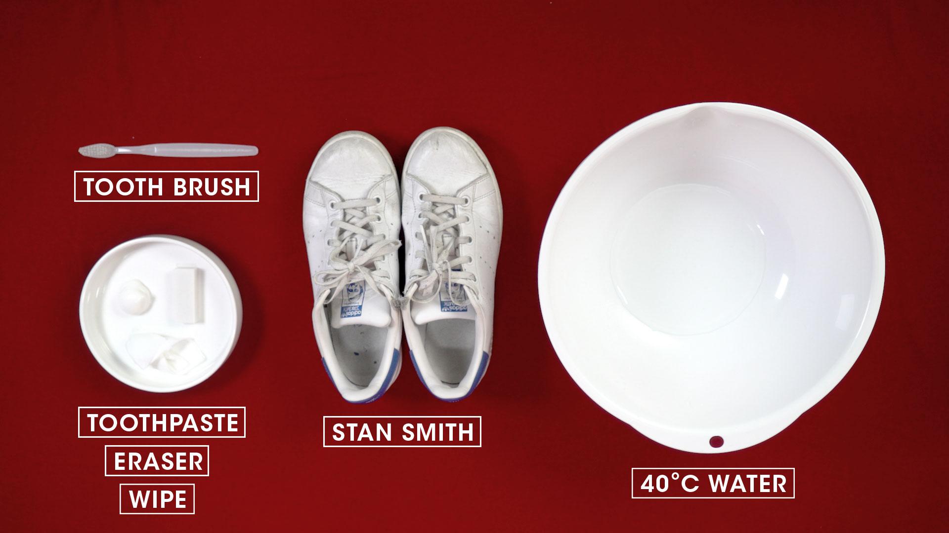白波鞋的保養竟可如此容易 就用這些簡單的材料 為你心愛的波鞋進行局部和深層清潔!
