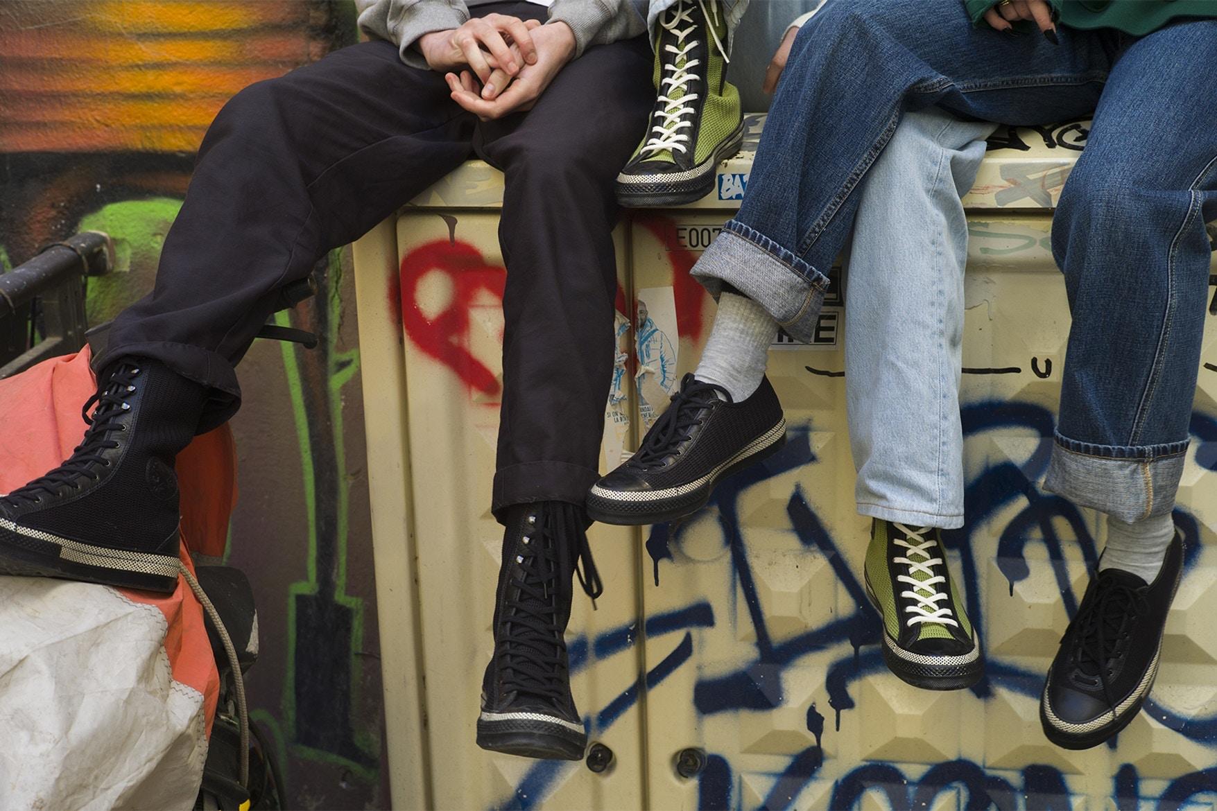 以芭蕾舞鞋為靈感 JW Anderson 與 Converse 迎來第三波聯名
