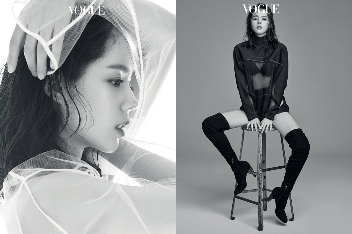 韓佳人登上《Vogue》拍攝時髦寫真,這身材依然讓人驚呼!