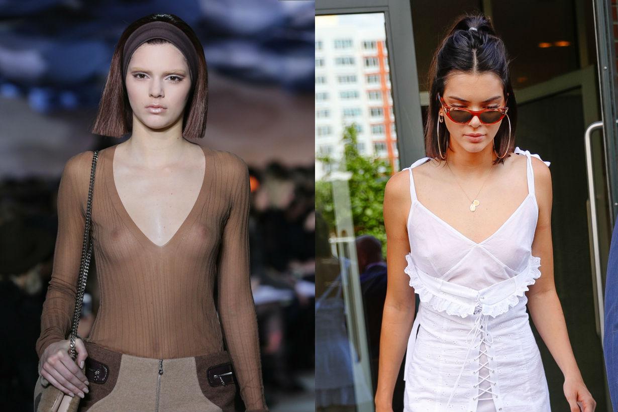 Kendall Jenner 的奶頭成了女人們最新流行的整形範本