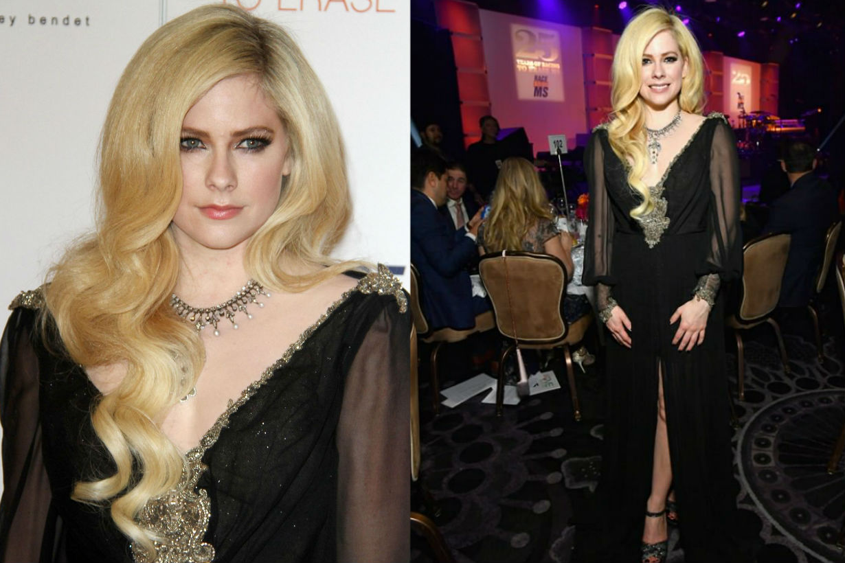 Avril Lavigne is the picture of health at MS event after battling Lyme disease