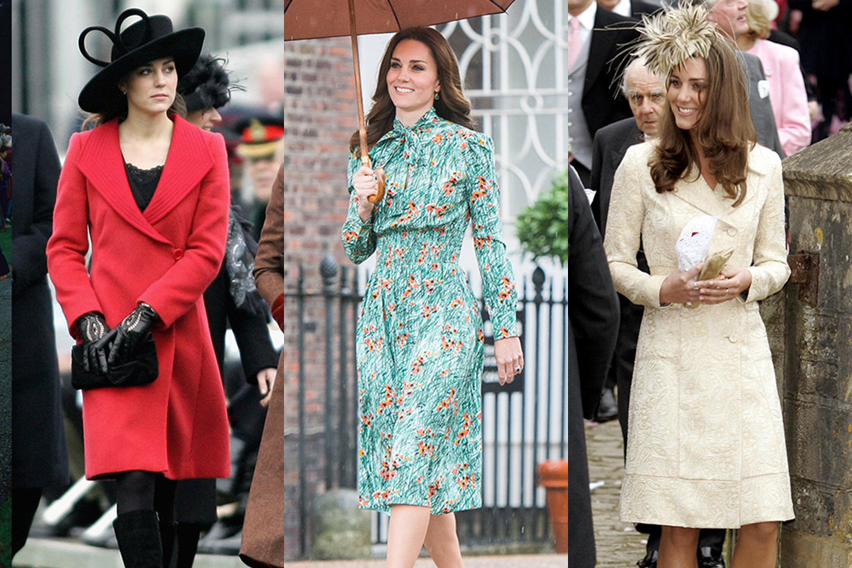 Kate Middleton 婚前已開始模仿戴安娜王妃生前穿搭