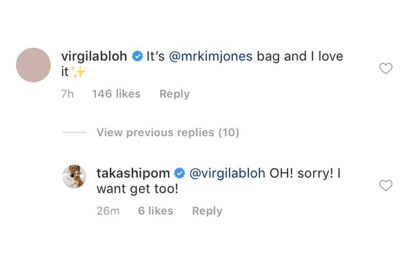 Virgil Abloh 為 Louis Vuitton 設計的首個手袋被村上隆  Takashi Murakami 意外曝光原來是誤會一場