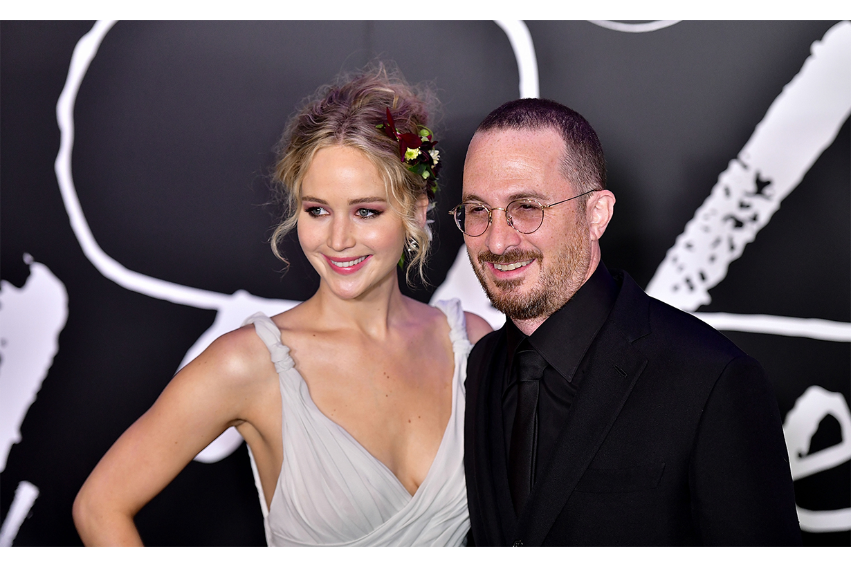 Darren Aronofsky and Jennifer-lawrence