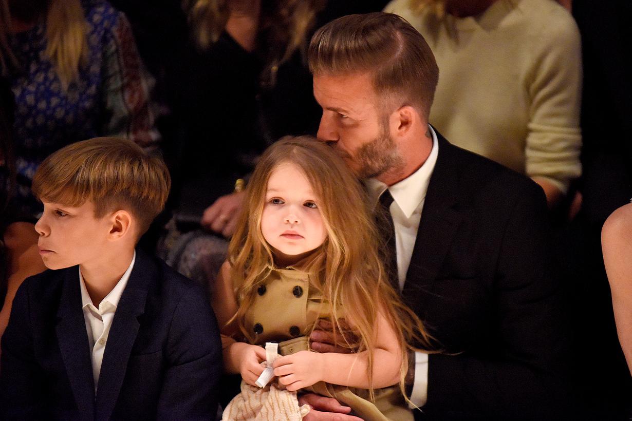 David Beckham and Harper Beckham-1