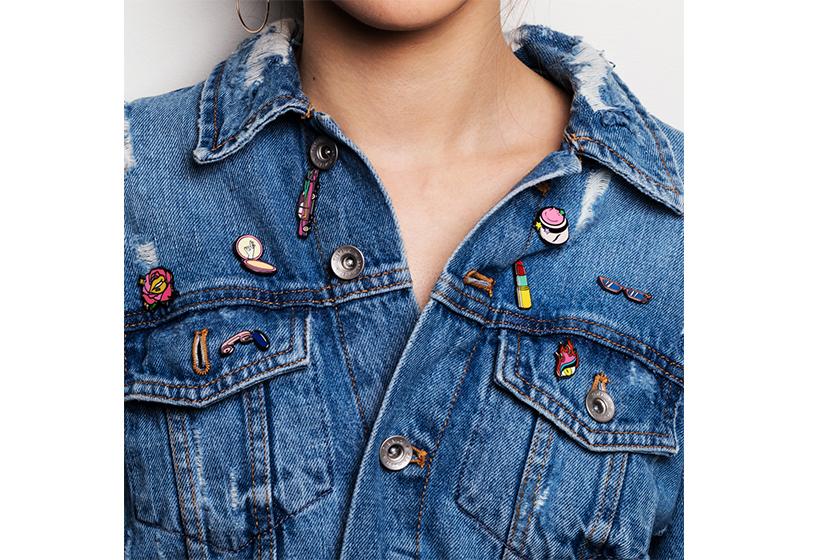 只要有了這個Sephora pin set就能讓你簡單的造型升級時尚度UP