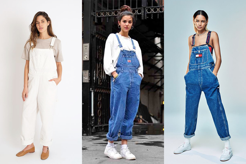 Denim dungaree overall styling tips