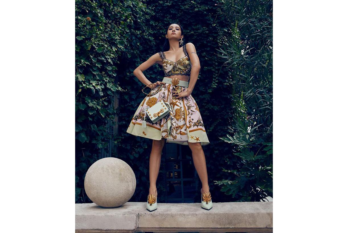 Jolin Tsai Versace The Versace Tribute Collection