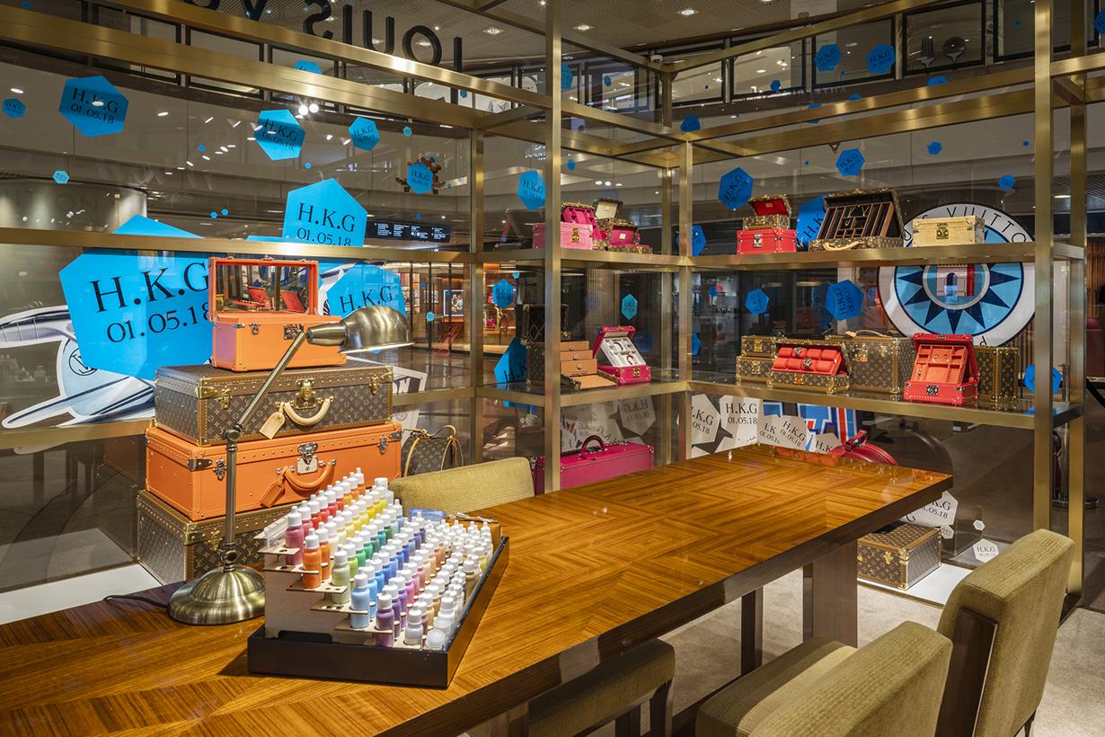 Louis Vuitton Hard Sided Pop Up Store Hong Kong