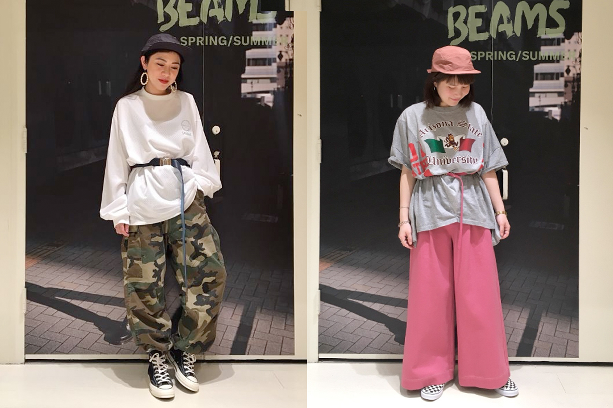 beams staff styling tips japanese online shop