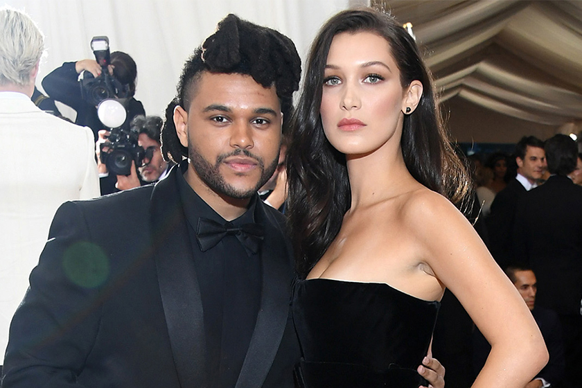 bella hadid the weeknd magnum party cannes
