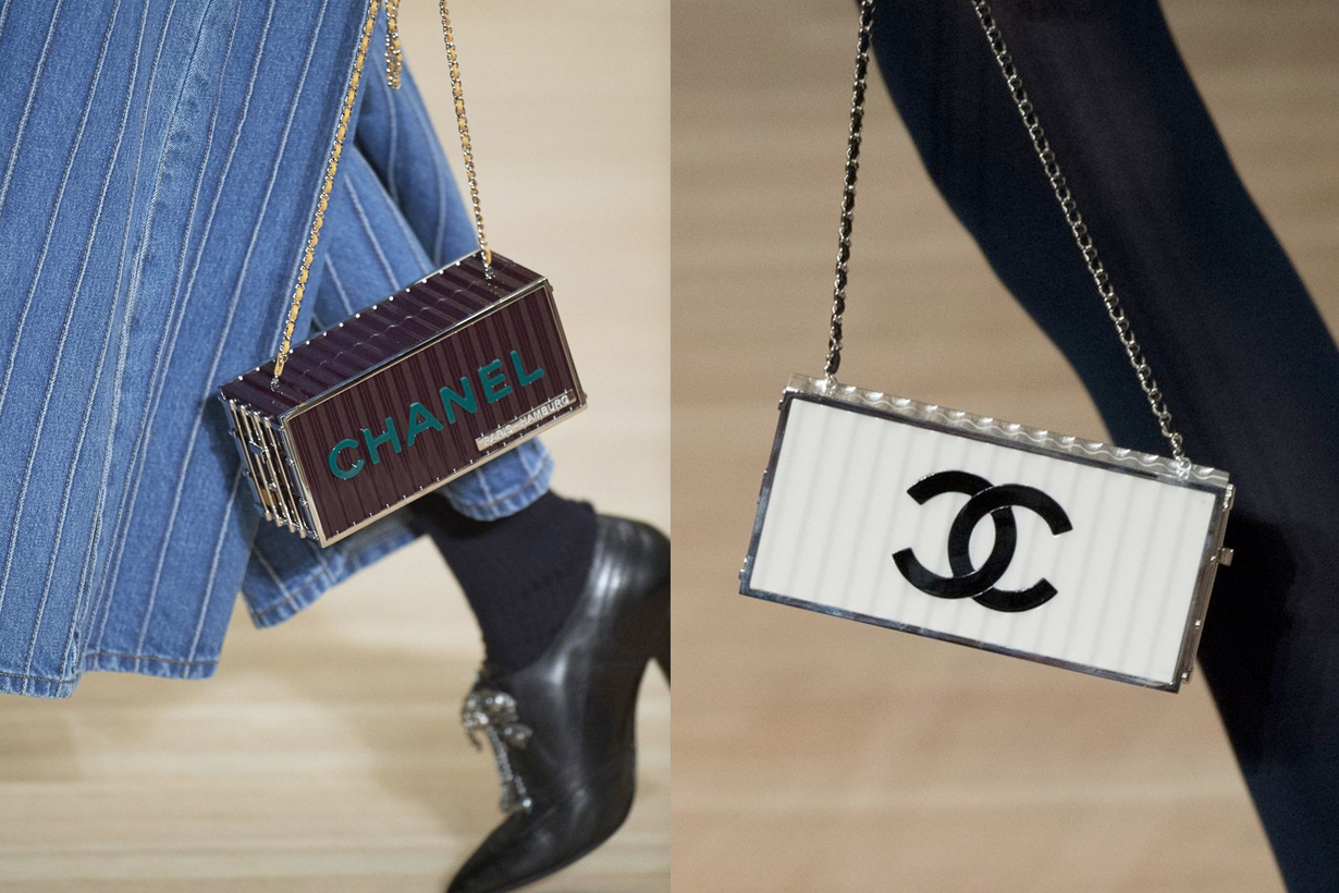 CHANEL 2018 pre-fall container handbags Metiers d'Art it bag