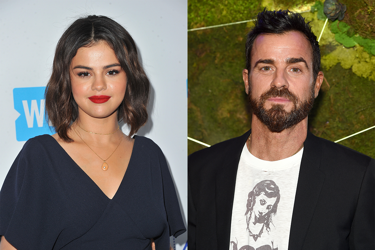 Selena Gomez and Justin Theroux