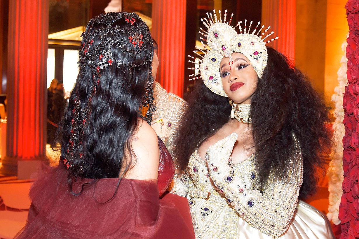 kendall jenner rihanna bella hadid met gala behind the scenes