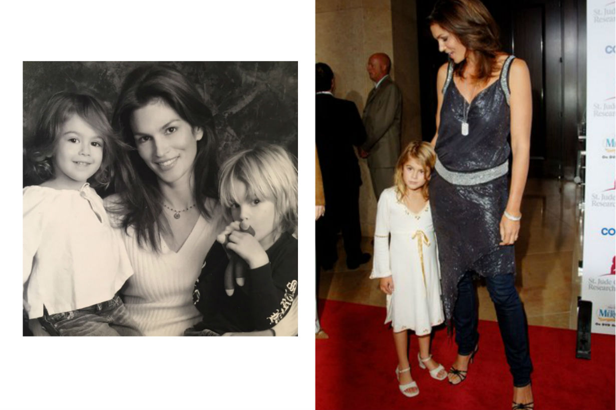 mothers day kaia gerber cindy crawford