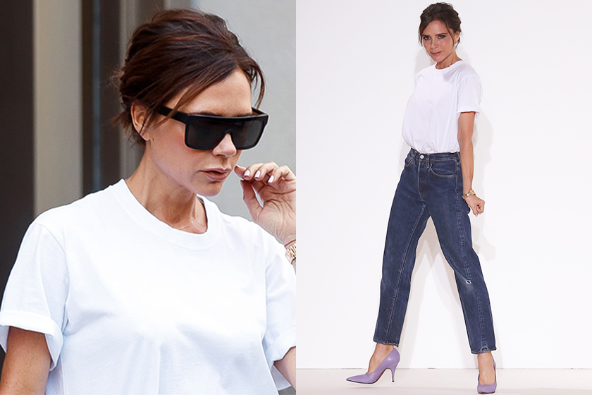 white-tee-victoria-beckham-styling-tips