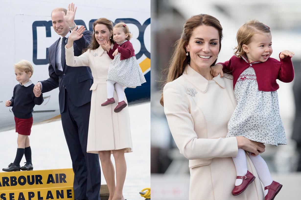 princess charlotte royal wave manner throwback adorable