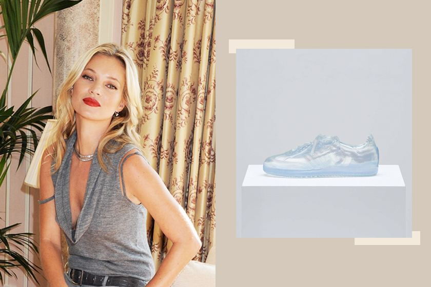 Kate Moss、adidas 為了 LGBTQ 遊行設計了限量球鞋,全透明的款式絕對是波鞋女孩心中的「玻璃鞋」 – Popbee