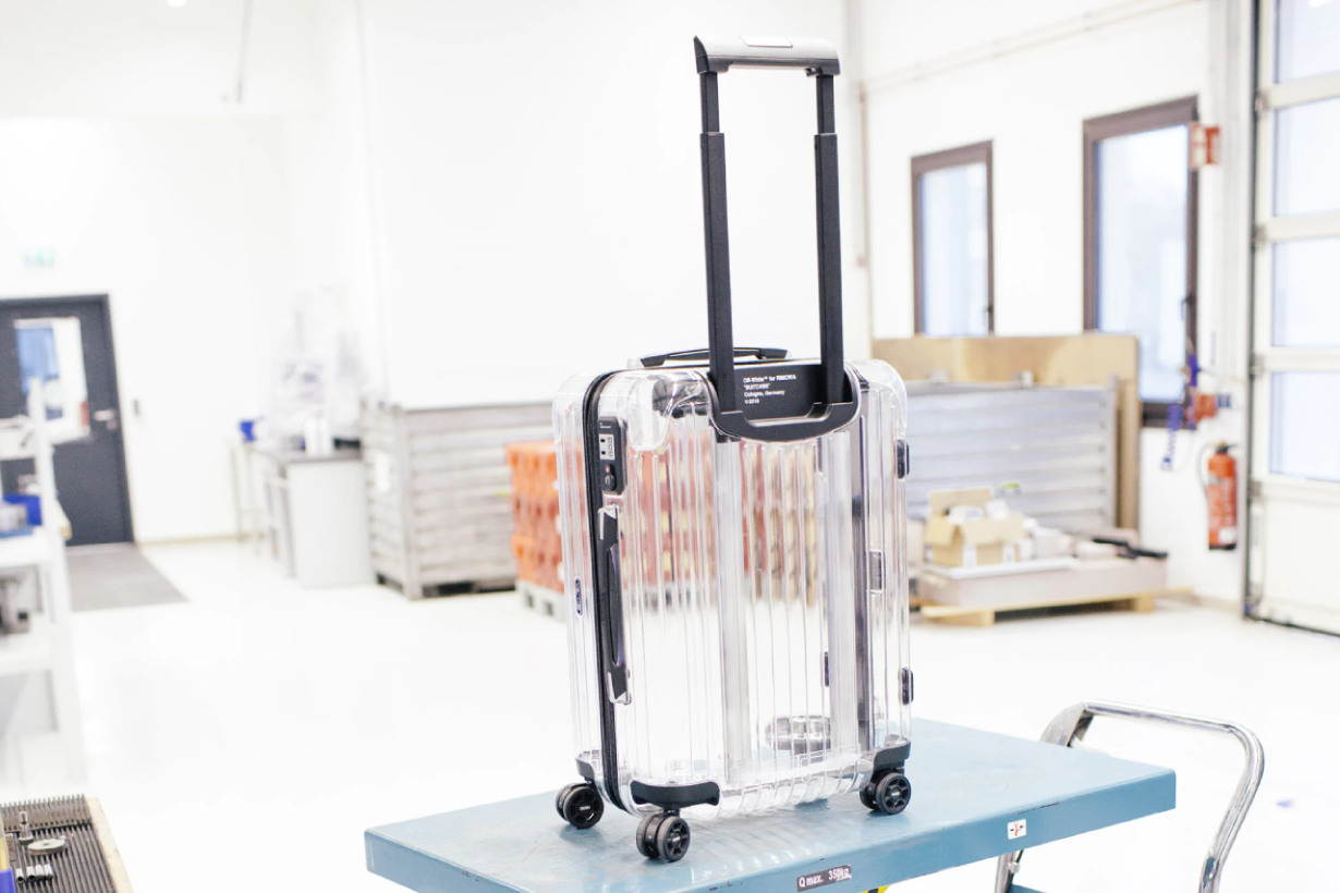 rimowa Off-White virgil abloah Suitcases limited edition reveal