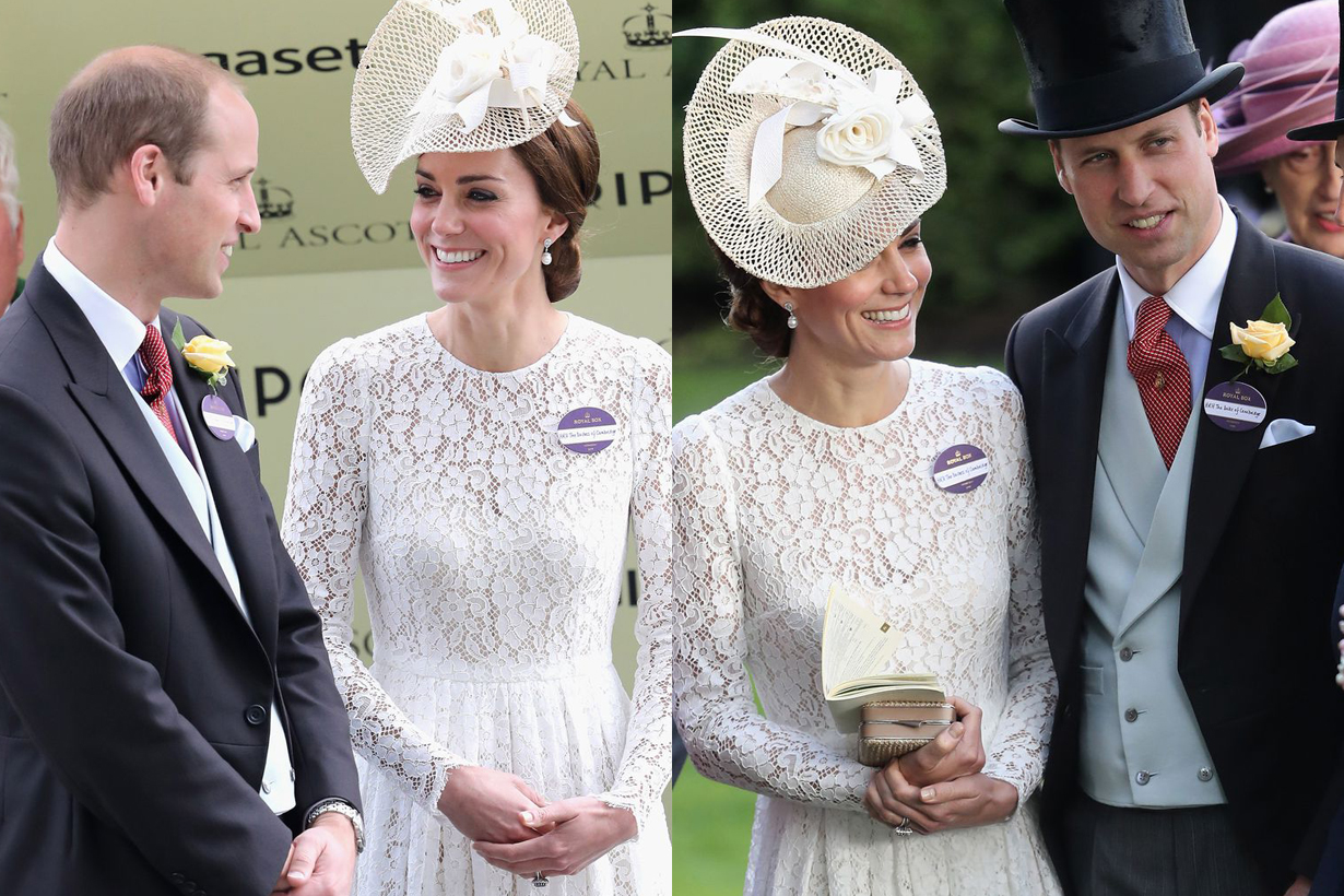 Meghan Markle Prince Harry Royal Ascot 2018 Queen Elizabeth II Kate Middleton Prince William Camilla British Royal Family