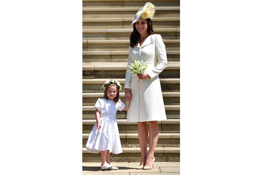 princess charlotte sit dinner table parents royal visits