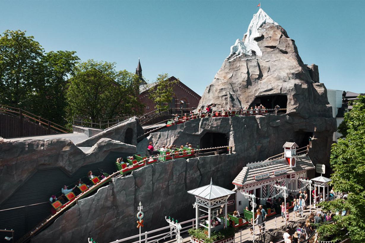 roller coaster in Tivoli Garden 2