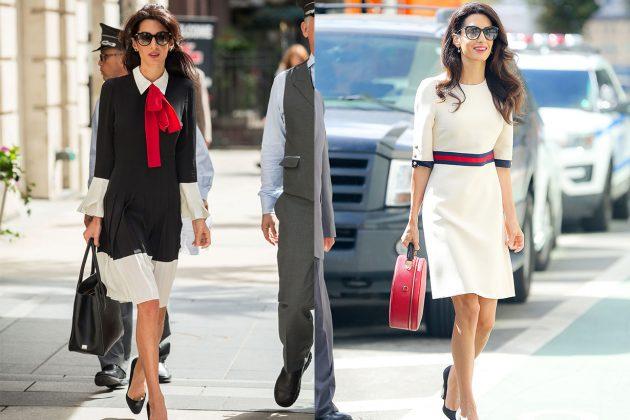 Amal Clooney Colour Accessories