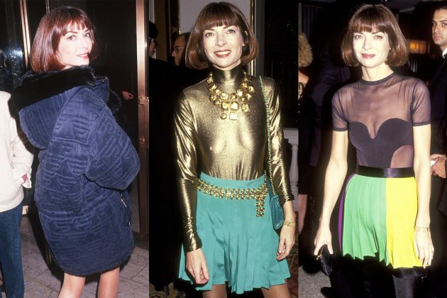 Anna Wintour 1990S Style
