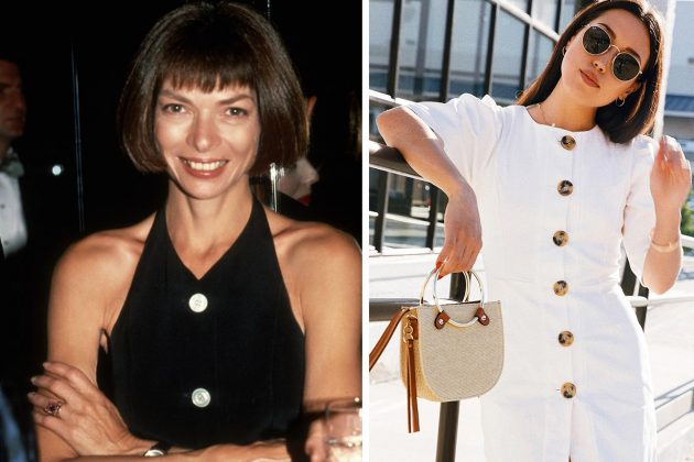 Anna Wintour Aimee Song of style Button Trend