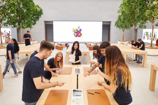 new apple piazza liberty in milan