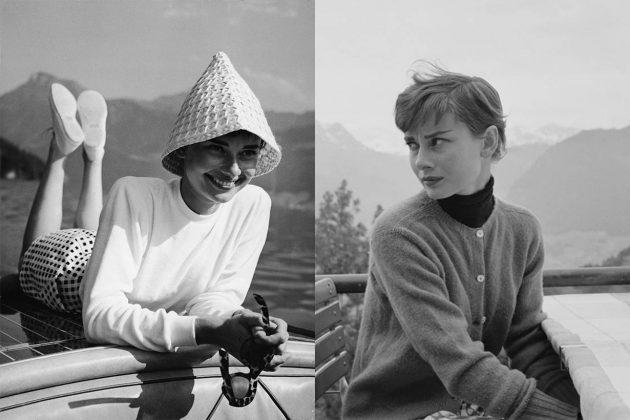 Audrey Hepburn High Neck Top