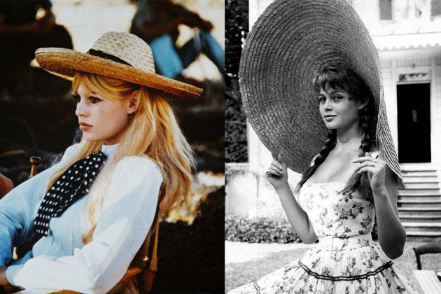 Brigitte Bardot Straw Hat