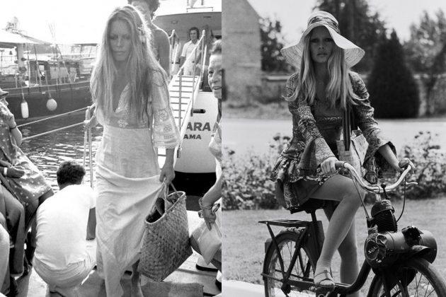 Brigitte-Bardot Bohemian Style