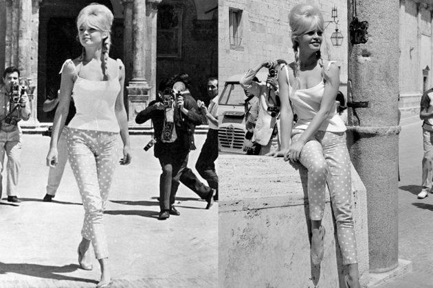 Brigitte Bardot Dots Pants
