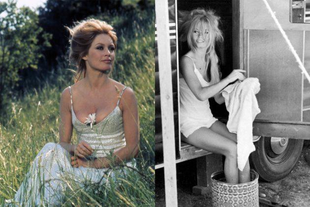 Brigitte-Bardot Slip Dress