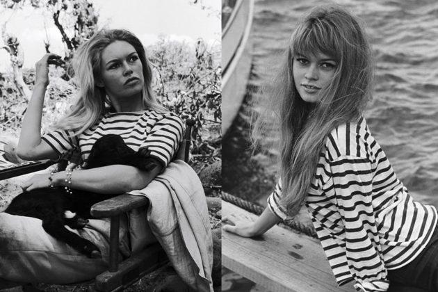 Brigitte Bardot Stripe top