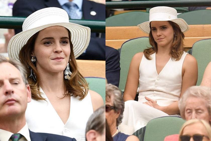 emma watson meghan markle ralph lauren kate Wimbledon celeb style