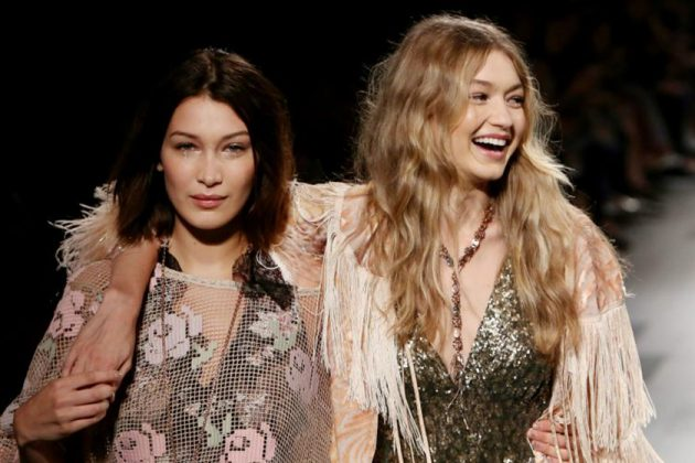 Gigi Hadid Bella Hadid Fashion Model Catwalk