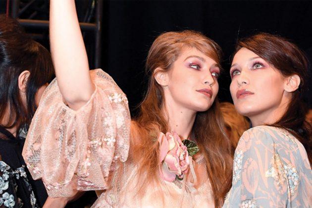 Gigi Hadid Bella Hadid Model Rivalry Catwalk Backstage
