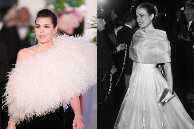 Grace Kelly Charlotte Casiraghi Gown