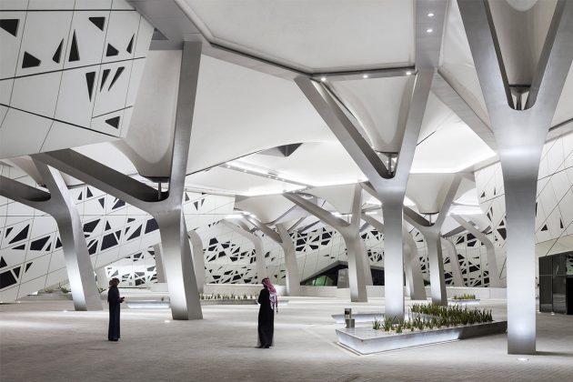 Zaha Hadid Architects King Abdullah Petroleum Studies & Research Centre in Riyadh