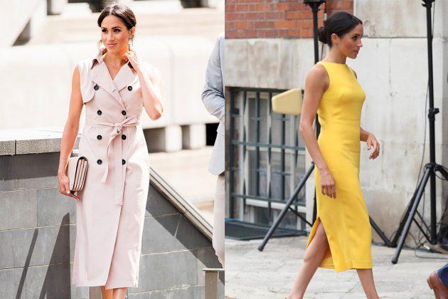 Meghan Sleeveless Dress Royal Rules