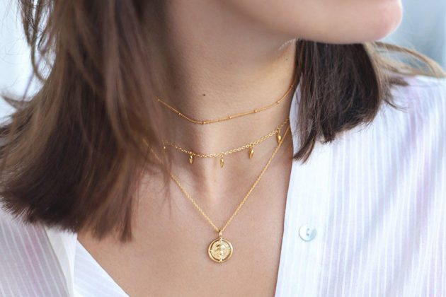 Missoma Lucy Williams Golden Coin Necklace