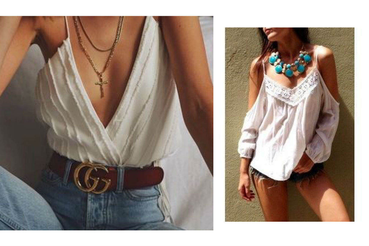 Spaghetti-strap top outfit